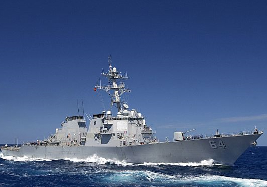 Arleigh-Burke-Class-Destroyer-Disrupts-Pirate-Activity-in-Gulf-of-Aden