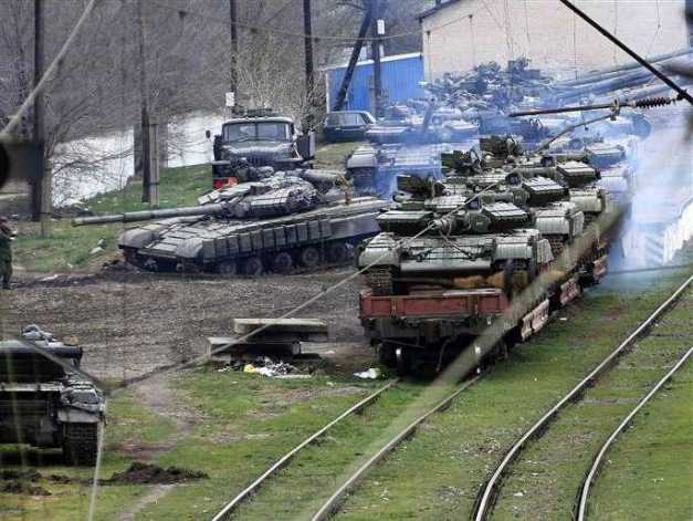 Russian tanks Border