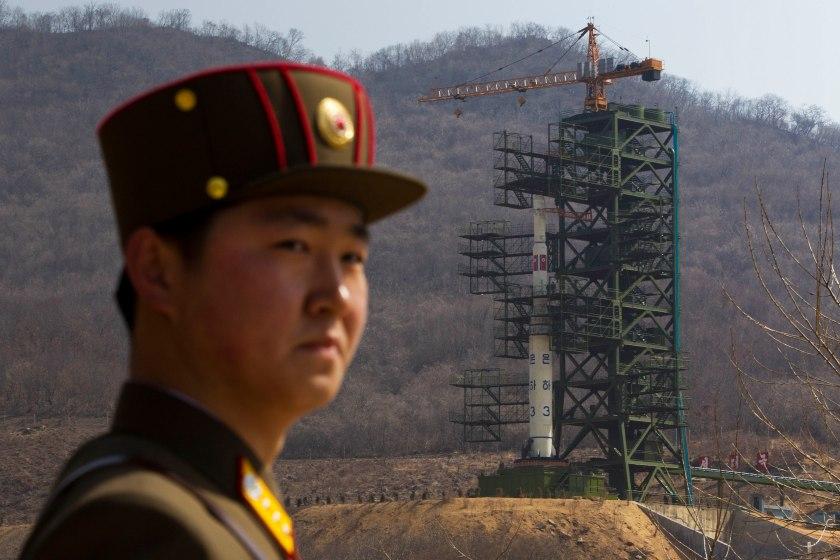 APTOPIX North Korea Rocket Launch