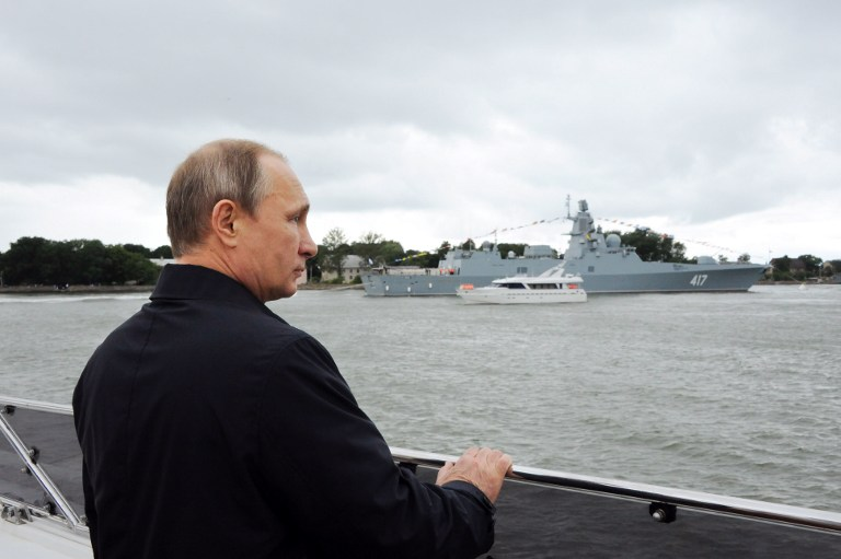 RUSSIA-POLITICS-DEFENCE-NAVY