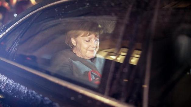 Exploratory talks for new German coalition government in Berlin